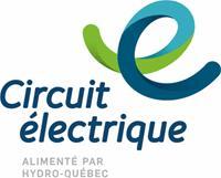 Logo Circuit Électrique - Bornes de recharge sur rue dans le centre-ville de Montréal