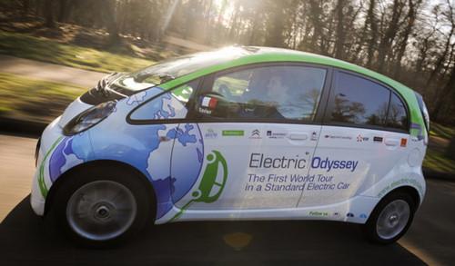 Le tour du monde en voiture électrique