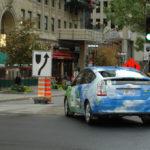 Rallye Vert 2012 de Montréal Départ de la Prius ARPAC / Polytechnique de Montréal