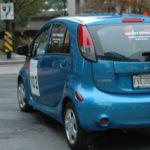 Rallye Vert 2012 de Montréal - Voiture électrique Mitsubishi i-MIEV