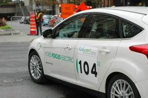 Rallye Vert 2012 - Ford Focus électrique #104 de Sylvain Juteau