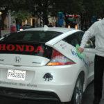 Rallye Vert 2012 de Montréal - Honda CR-Z