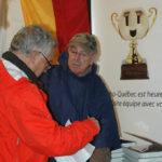 Résultats Rallye Vert 2012 - Peter Duncan et Yvon Beausoleil avant la remise des prix