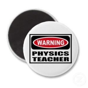 Attention! Prof de physique
