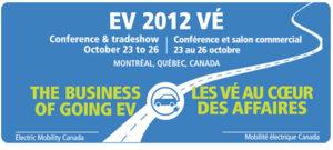 Conférence EV2012 Montréal