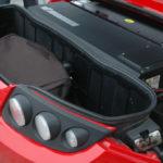 Le coffre arrière de la Tesla Roadster