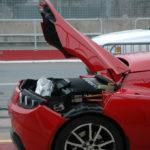 Capot arrière de la Tesla Roadster
