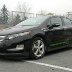 Chevrolet Volt Extended range electic vehicle
