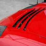 Capot de la Tesla Roadster