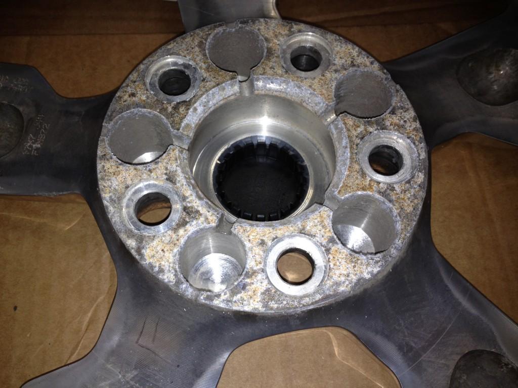 Corrosion sur mag d'aluminium
