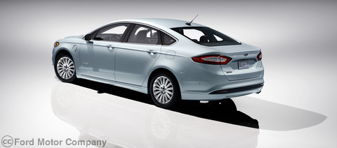 Ford Fusion Energi 2013 branchable enfichable consommation