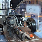 Châssis Chevrolet Volt Salon de l'auto de Montréal