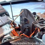 Générateur moteur électrique port recharge châssis Chevrolet Volt