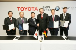 Entente collaboration Toyota BMW batterie lithium-air