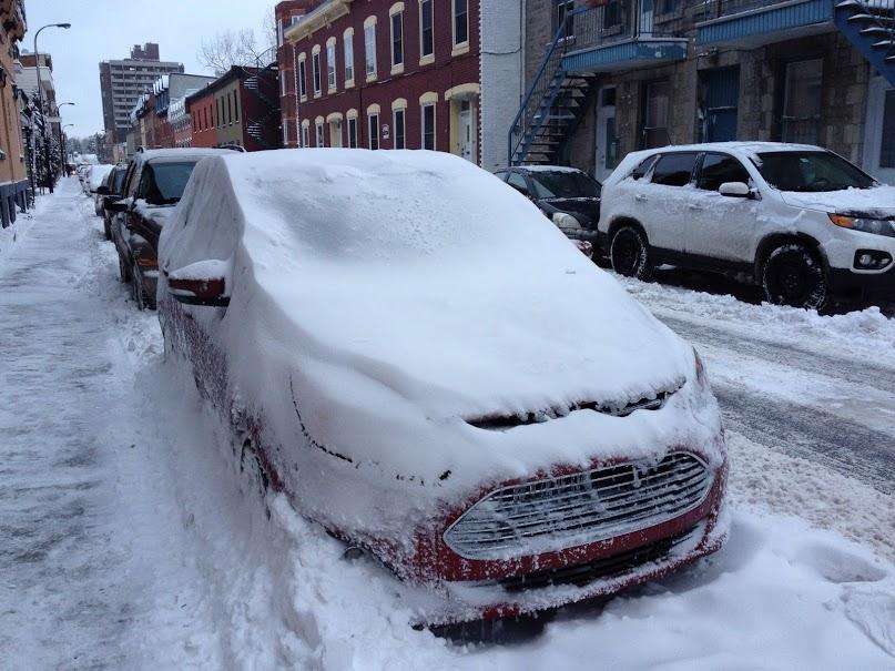 Essai hivernal de la Ford C-MAX hybride