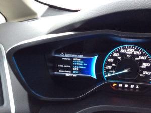 Même en hiver, la consommation d'essence peut descendre sous les 5 l. / 100 km lorsque le moteur est chaud.
