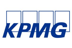 Logo KPMG - enquete annuelle industrie automobile - intérêt voiture électrique à la baisse