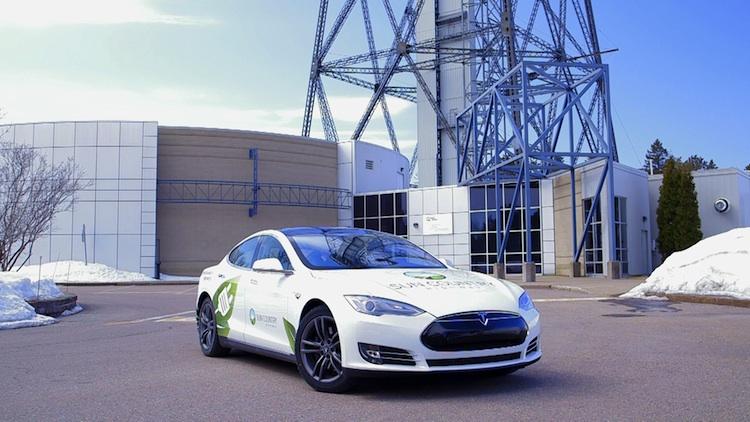 VIDÉO : Lancement de Eco Route Québec à Shawinigan!
