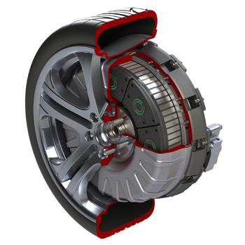 Protean Electric - moteur-roue