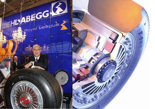 Ziehl-Abegg moteur-roue ZAwheel pour autobus