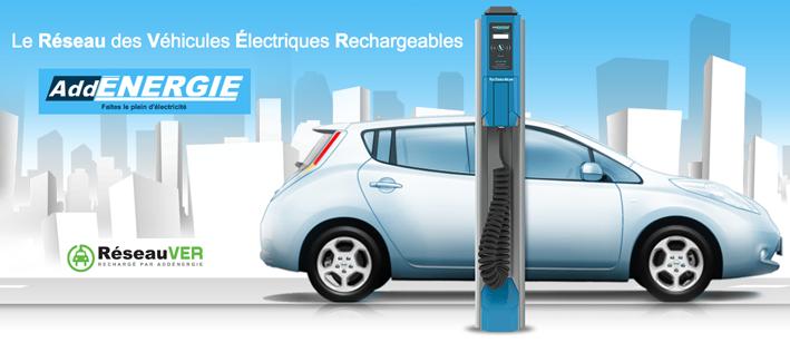 AddEnergie -fournisseur bornes de recharge pour voitures électriques