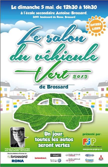 Salon du véhicule vert de Brossard
