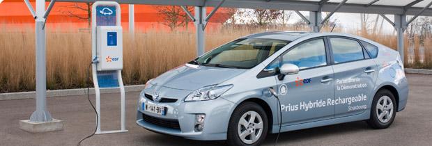 Bilan de l'expérimentation avec les Prius branchables à Strasbourg – Pierre Langlois