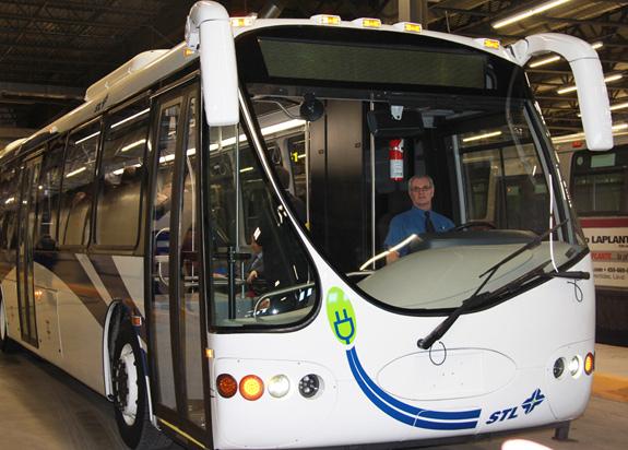 STL - Essai autobus electrique DesignLine