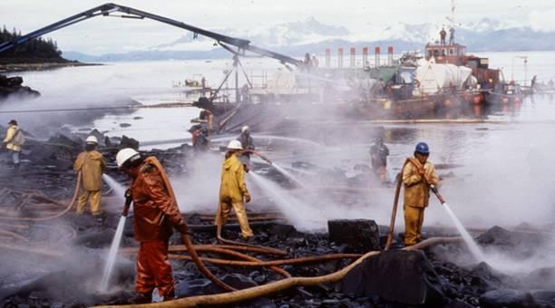 En cas de déversement pétrolier, La garde côtière réagirait mal.