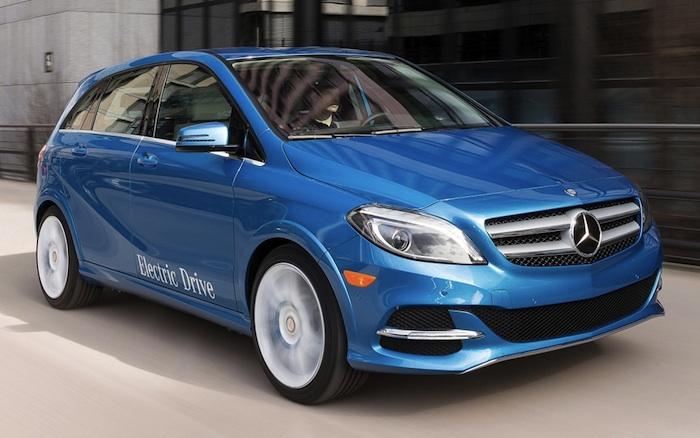 MAUVAISE NOUVELLE : La Mercedes Benz de Class B électrique 2014 ne sera PAS offerte au Canada!
