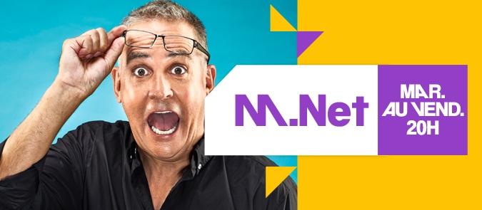 CE SOIR : De passage à M. NET sur MUSIQUE PLUS