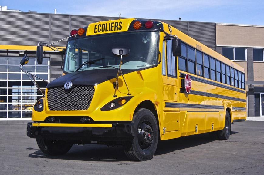 Autobus Lion - autobus électrique