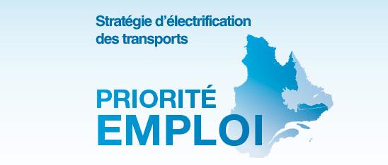 La stratégie d'électrification des transports du Québec