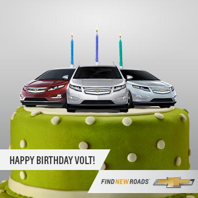 Bon anniversaire, Volt!