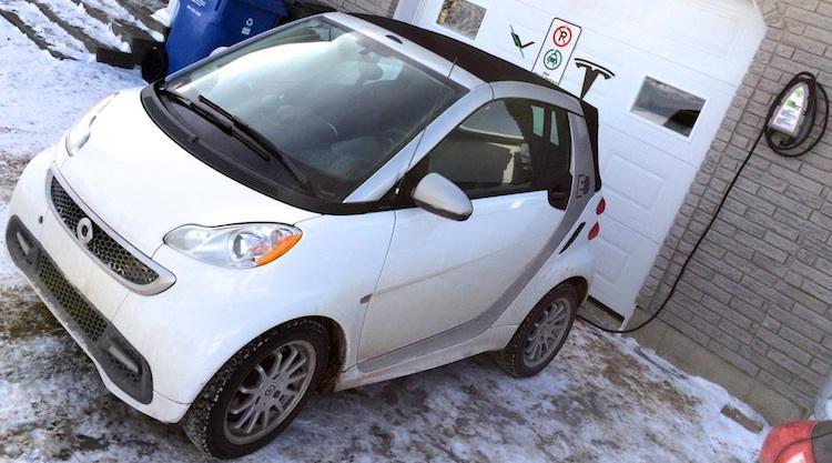 La borne québécoise EVduty : Un propriétaire de SMART ED confirme que ça fonctionne A1!