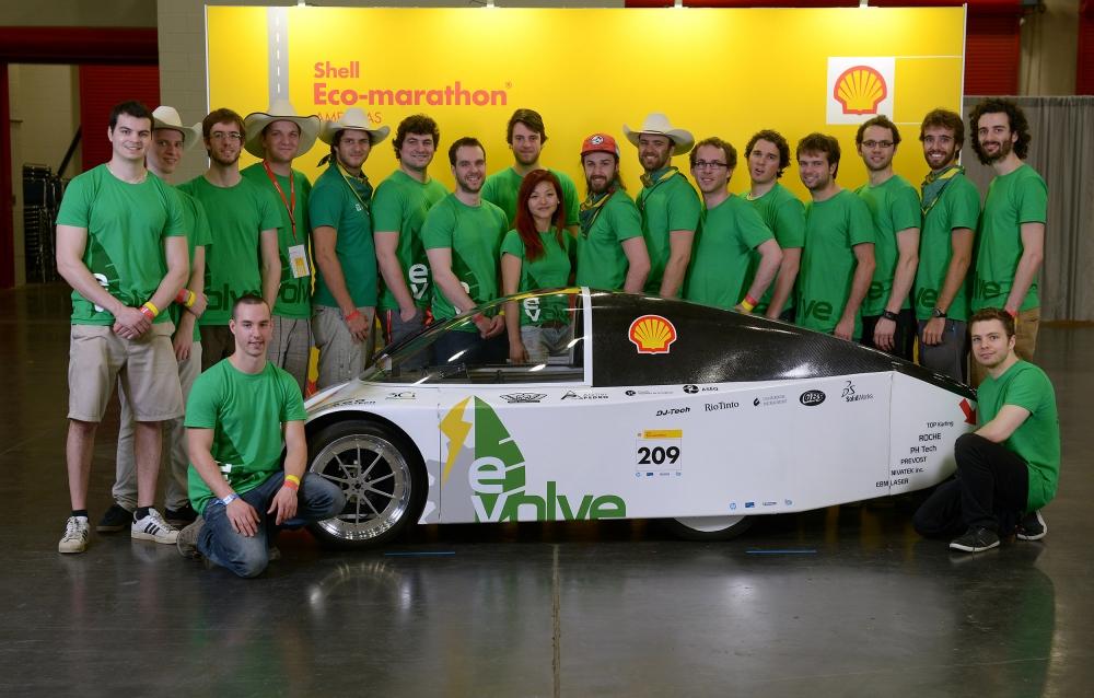 Eco-marathon Shell Americas 2014 – l'Université de Sherbrooke l'emporte