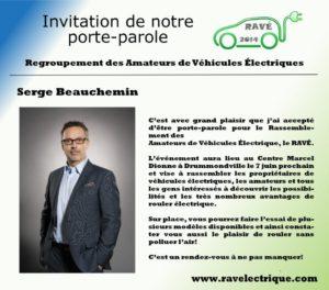 Porte-Parole Serge Bauchemin