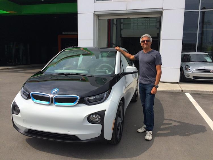 Gad reçoit sa BMW i3 avec prolongateur d'autonomie!
