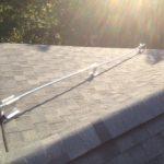 Conduit pour les fils électriques sur supports