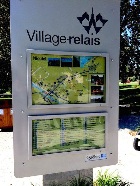 Nicolet est un Village-relais!  On a hâte que TOUS les Villages-relais possèdent des bornes publiques!