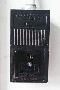 Le prise de soudeuse 240V