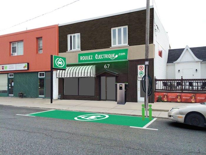 Concept de recharge sur rue présentée à la Ville de Trois-Rivières