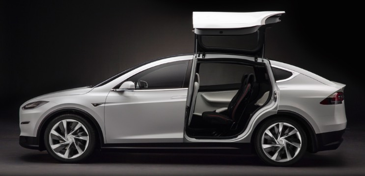 tesla model x le plus r cent design roulez electrique. Black Bedroom Furniture Sets. Home Design Ideas