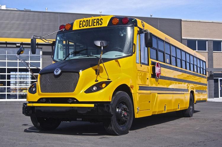 L'autobus scolaire électrique arrivera sur nos routes bientôt!