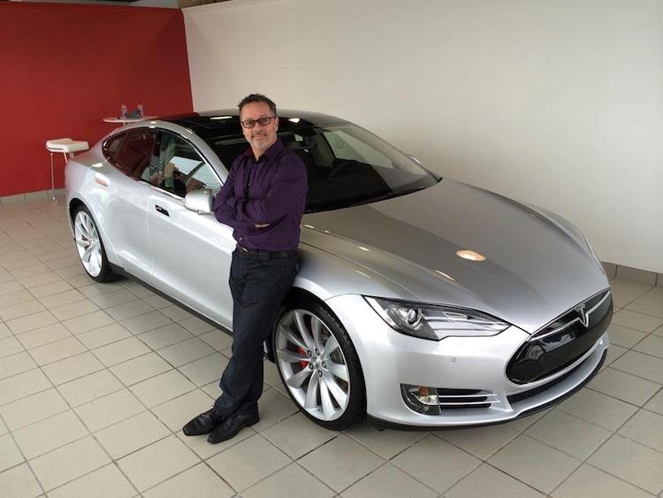 À VENDRE : la Tesla P85 du « dragon » Serge Beauchemin!