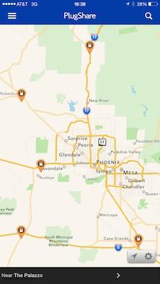 5 SUPERCHARGERS dans la région de Phoenix!!