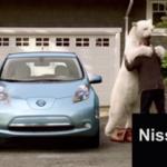Pub-ours polaire-Nissan Leaf