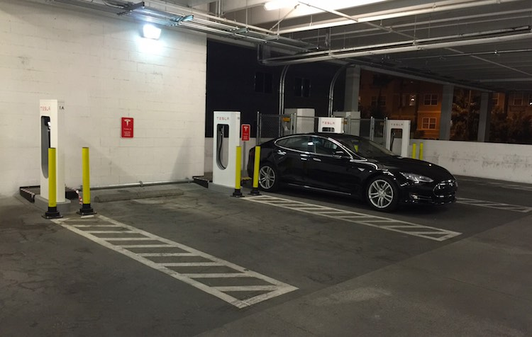 Supercharger à Las Vegas