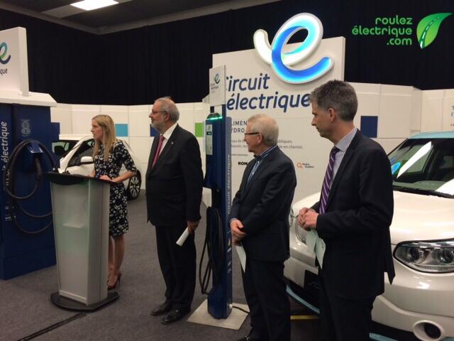 2e annonce du Circuit électrique : tous les St-Hubert auront leur borne publique cette année!!