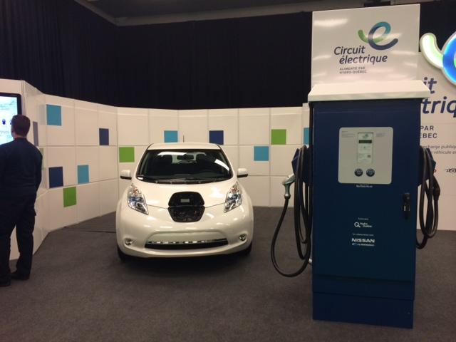 Communiqué : Annonce de partenariat entre Nissan et le Circuit électrique